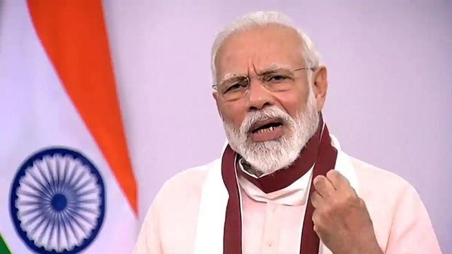 Modi launches 7 projects