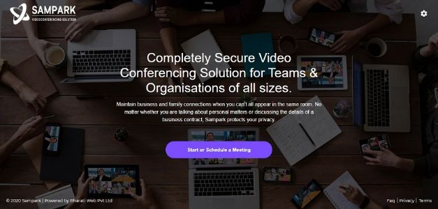 Bharati Web offers safe video conferencing solution