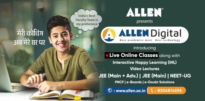 ALLEN Digital LIVE course