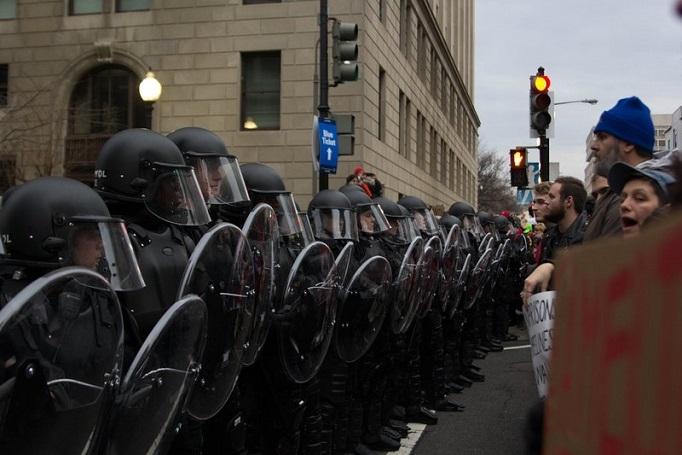 Political Violence In US_