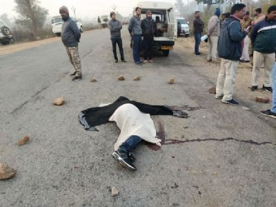 Man, female friend shot dead after car chase in Chitrakoot