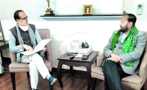 CM calls on Union Minister Javadekar
