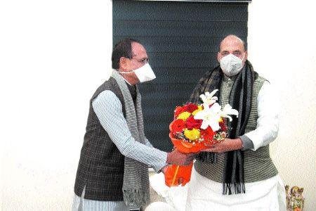 CM meets Rajnath Singh, discusses to open Sainik School, Gwl- Chambal zone
