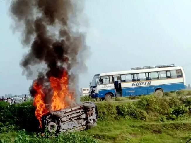 Lakhimpur Kheri violence_