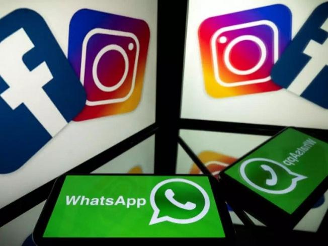 Facebook WhatsApp Insta f