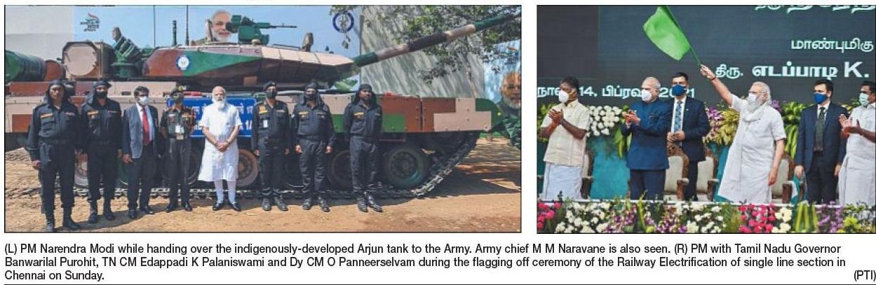 Arjun tank to Army_1
