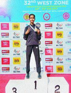 Mitali clinches 1500m gold