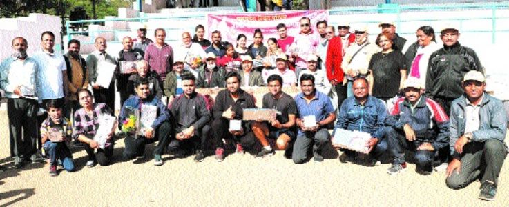 Walking competition proves morale booster with participation of elderly