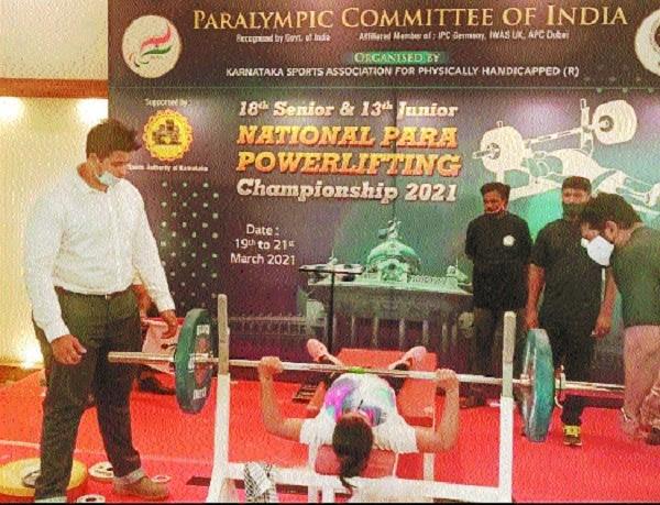 Pratima Bonde attempting