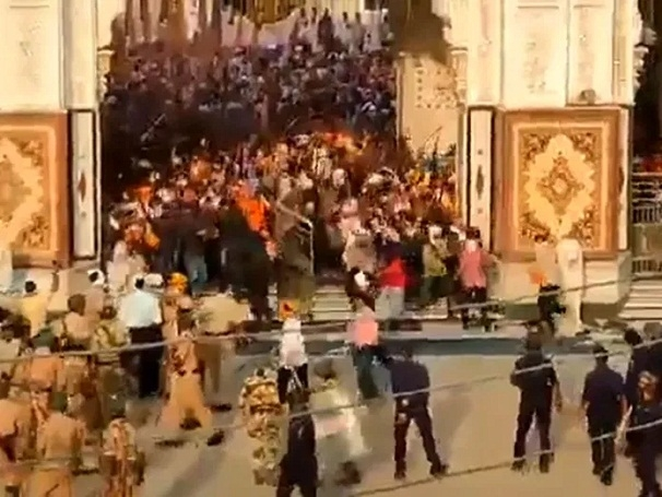 Nanded Gurudwara violence