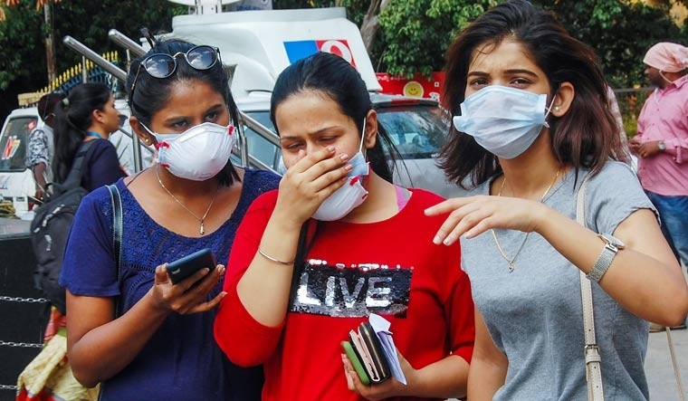 Wearing two masks almost doubles protection against COVID: Scientists