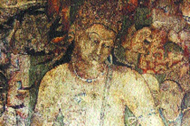Ajanta Cave paintings_1&n
