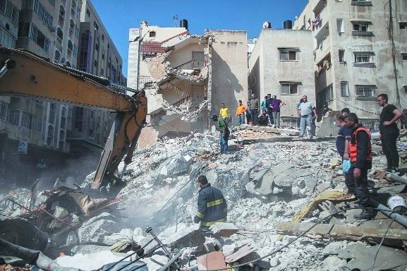 Israeli air strikes_1&nbs