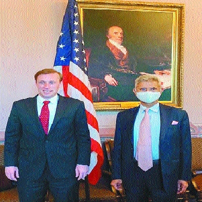 Jaishankar meets US NSA d