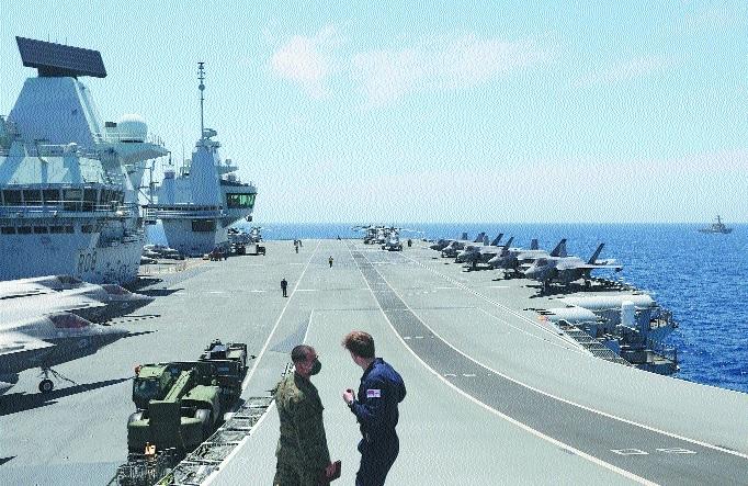 NATO troops conduct massi