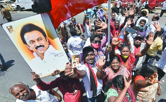 DMK Party workers_1