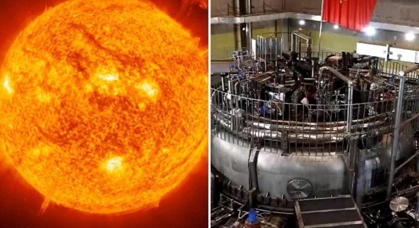 Chinas artificial Sun att