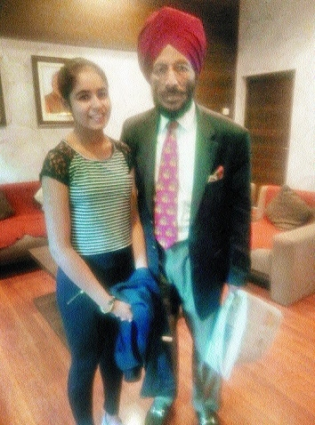 Ritika  Milkha Singh_1&nb