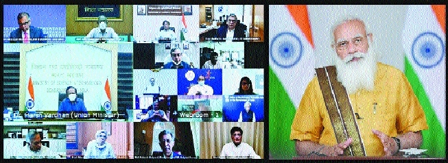 PM hails scientists for v