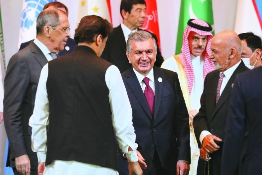 Ghani lashes out at Pak a