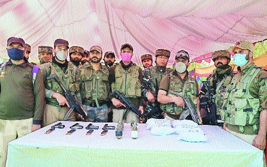 Baramulla Police and CRPF