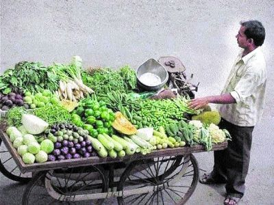 With rains, vegetables rates rises