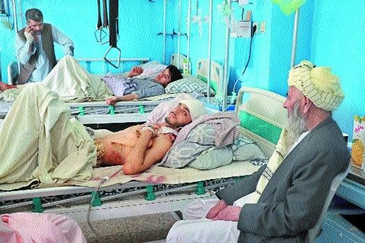 Afghans lie on beds _1&nb