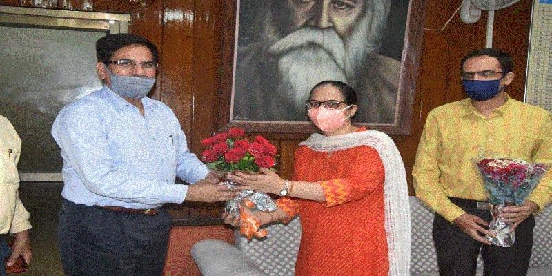 Dr Brijesh Singh takes ch