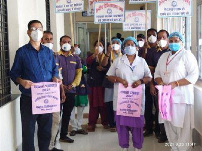 Swachha Parisar Diwas held at Jabalpur Rly Divn