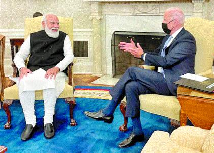 India, US ties destined to be stronger: Biden