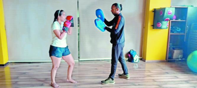 Srushti: From smashing shuttles to punching kicks